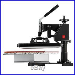 15 x 12 2in1 LED Heat Press Machine Transfer Sublimation T-Shirt Cap Hat Plate