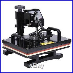 15x12 T-Shirt Sublimation Transfer Heat Press Machine with LCD Display
