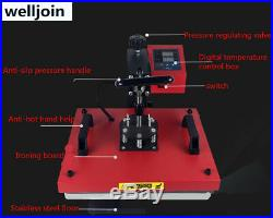 6 in1 Combination section heat press machine printing hat Baking panT-shirt
