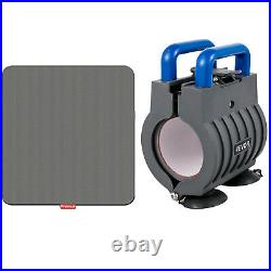 Heat Press Machine Easy Press 12 x 10 Blue Portable for DIY T-shirt Hat and Caps