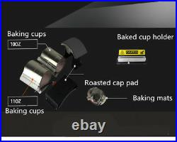 New 6 in1 Combination section heat press machine printing hat, Baking pan, T-shirt