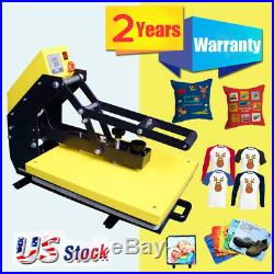USA 16x20 Clamshell Auto Open T-shirt Heat Press Machine with Slide Out Style