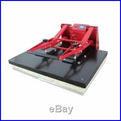 US 110V 24 x 31 Clamshell Large Format T-shirts Sublimation Heat Press Machine
