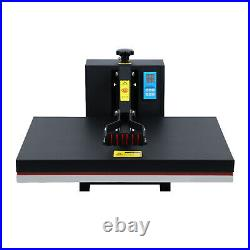 Used 1500W 16x24 Clamshell Heat Press Transfer T-Shirt Sublimation Machine