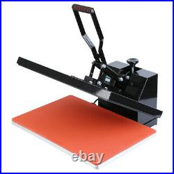 Used 1600W Clamshell T-Shirt Heat Press Transfer Sublimation Machine 16x24